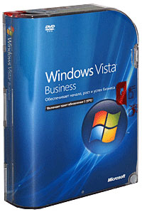 Windows Vista Business SP1 (Русская версия) Серия: Windows Vista инфо 13564g.